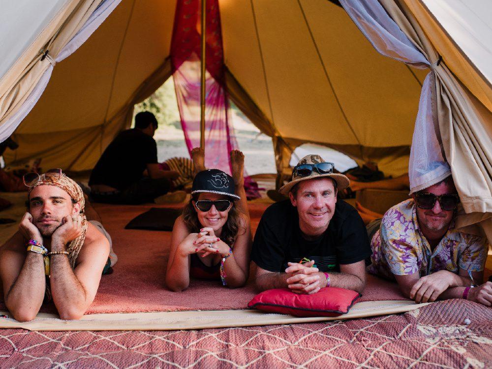NYE Festival Camping